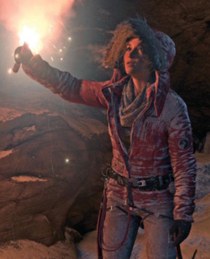 Tomb Rider Wallpaper: Lara Croft On Her Journey To