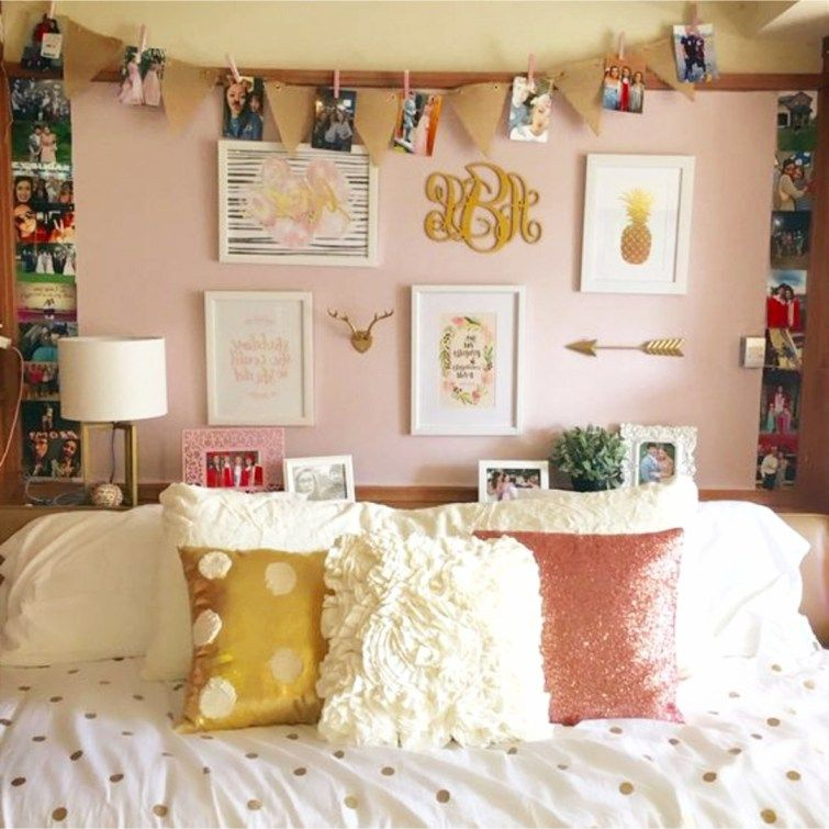 Gallery Wall Idea For Bedroom Or Dorm Room Apartment Decorating College Living Room Wall Decor Bedroom Diy Wall Decor For Bedroom