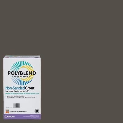 Custom Building Products Polyblend Truffle Lb NonSanded - Best non sanded grout