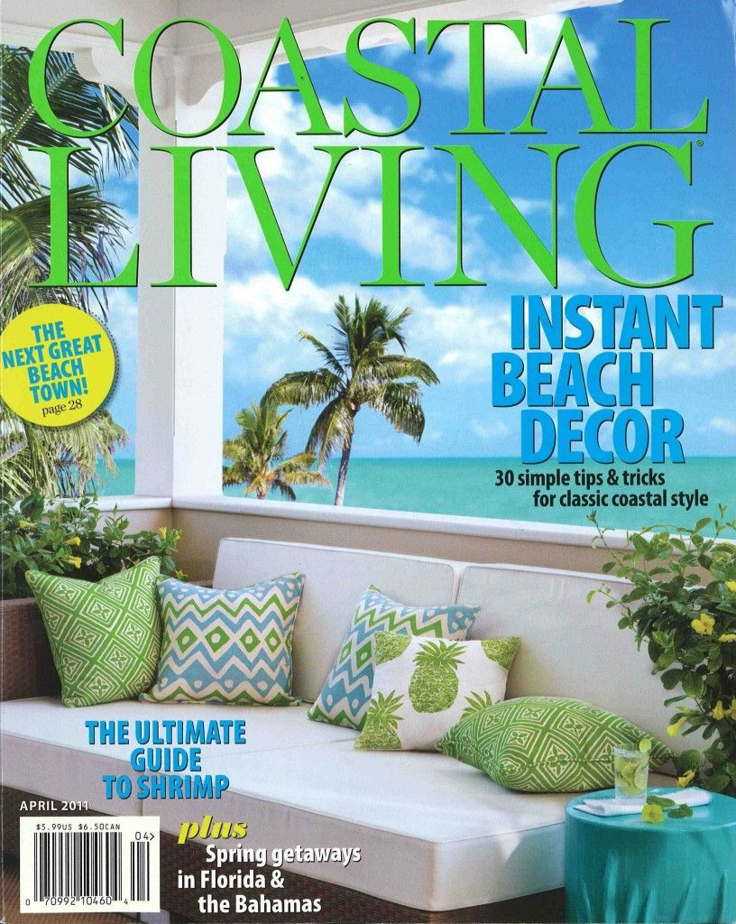 Lime, Turquoise, White, Coastal Living, Outdoor Furniture, Patio Furniture,  Veranda