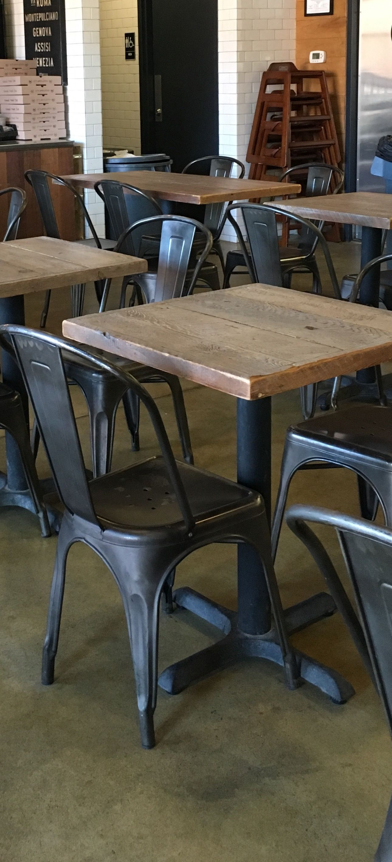 Reclaimed Wood From Nj Barns Turned Into Gorgeous Restaurant Tables