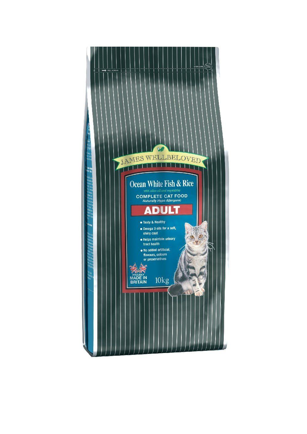 James Wellbeloved Adult Fish And Rice Dry Cat Food 10 Kg Cat Food Dry Cat Food Food