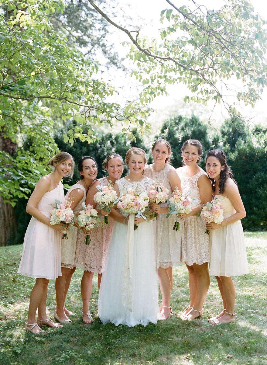 Elegant Virginia Theater Wedding Summer Bridesmaid Dresses Summer Bridesmaids Bridesmaid [ 1200 x 879 Pixel ]