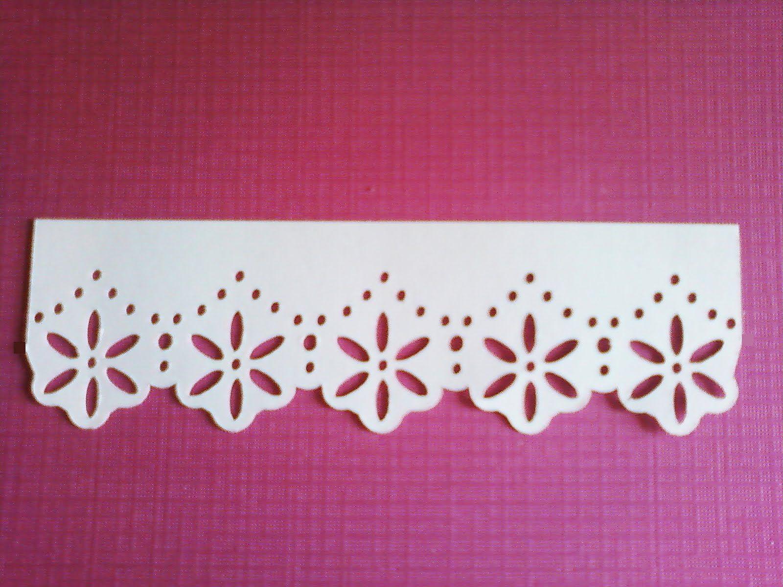cricutallison pollock  cricut cards cricut lace border