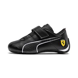 PUMA Ferrari Future Cat Ultra Baby Trainers, Black/White, size 5, Shoes