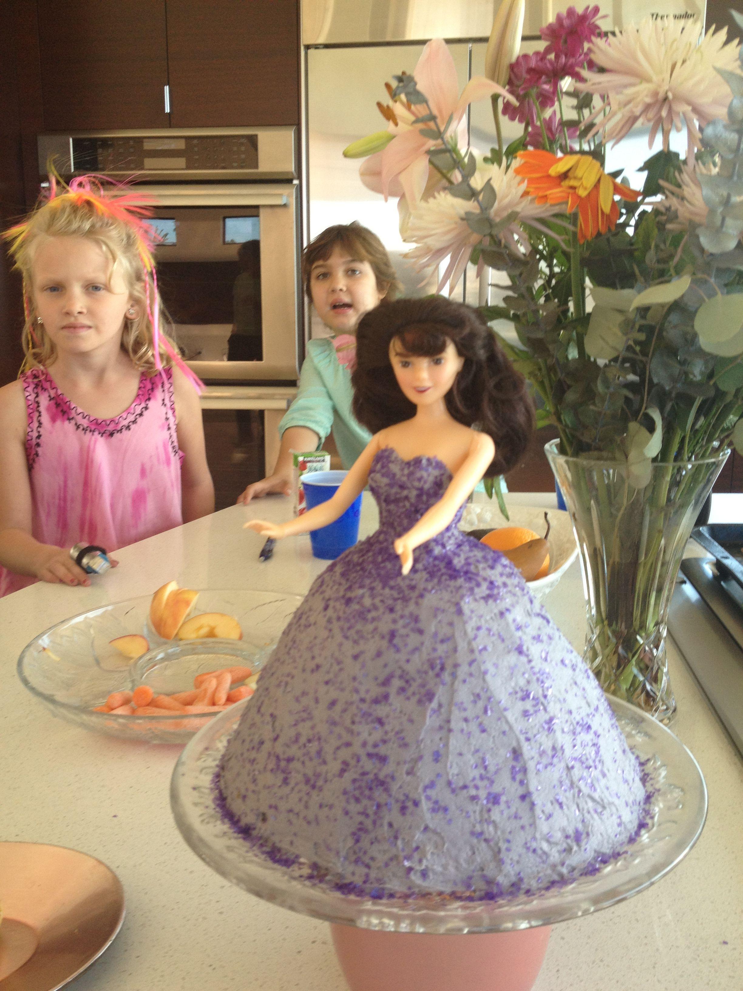 Barbie cake barbie cake disney princess cake