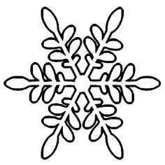 snowflakes coloring pages - Google Search   Raffey\'s Tutorials for ...