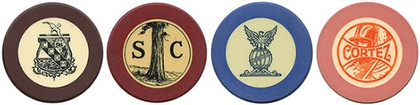 Crest & Seal Chips by the U.S. Playing Card Company