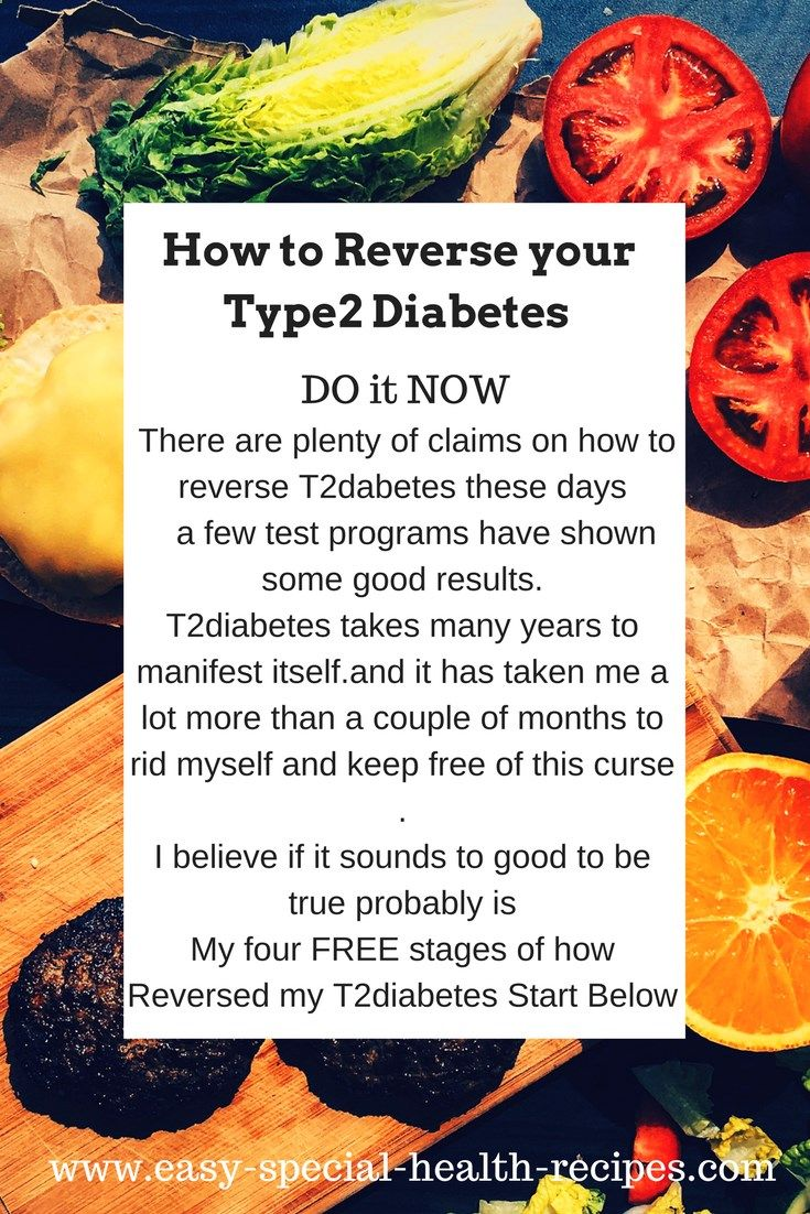 Reversing Diabetes Type2 is Possible Now With just a few small changes in the foods we eat and just 20mins extra exercises like walking a little more and you can be clear of T2diabetes.See how you can start FREE at: www.easy-special-...