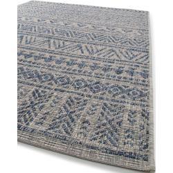Photo of benuta Plus In- & Outdoor-Teppich Cleo Blau 300×400 cm – für Balkon, Terrasse &…