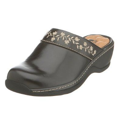 PYTHON Cushion Foot Bed Slip On Shoe SIZE 6 NEW Klogs WOMENS NAPLES CLOG