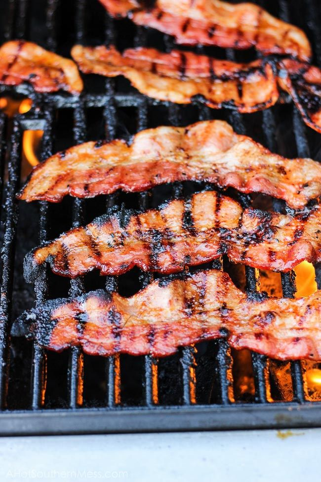 how to cook crispy bacon on the grill