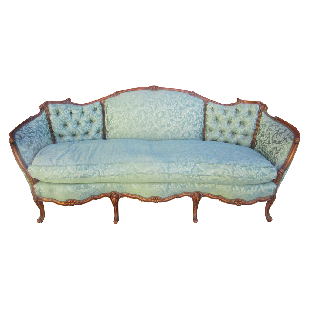 Vintage Couch American Antique Carved Sofa Couch Loveseat Antique Furniture