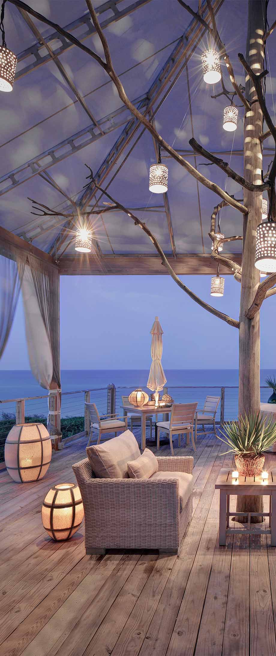 Decorating with Lanterns PATIOS & PORCHES