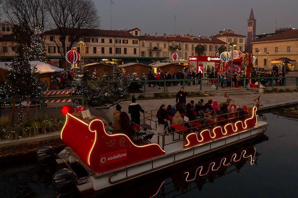 Darsena Natale 2016, Milano, Italy Darsena, Milano, Città