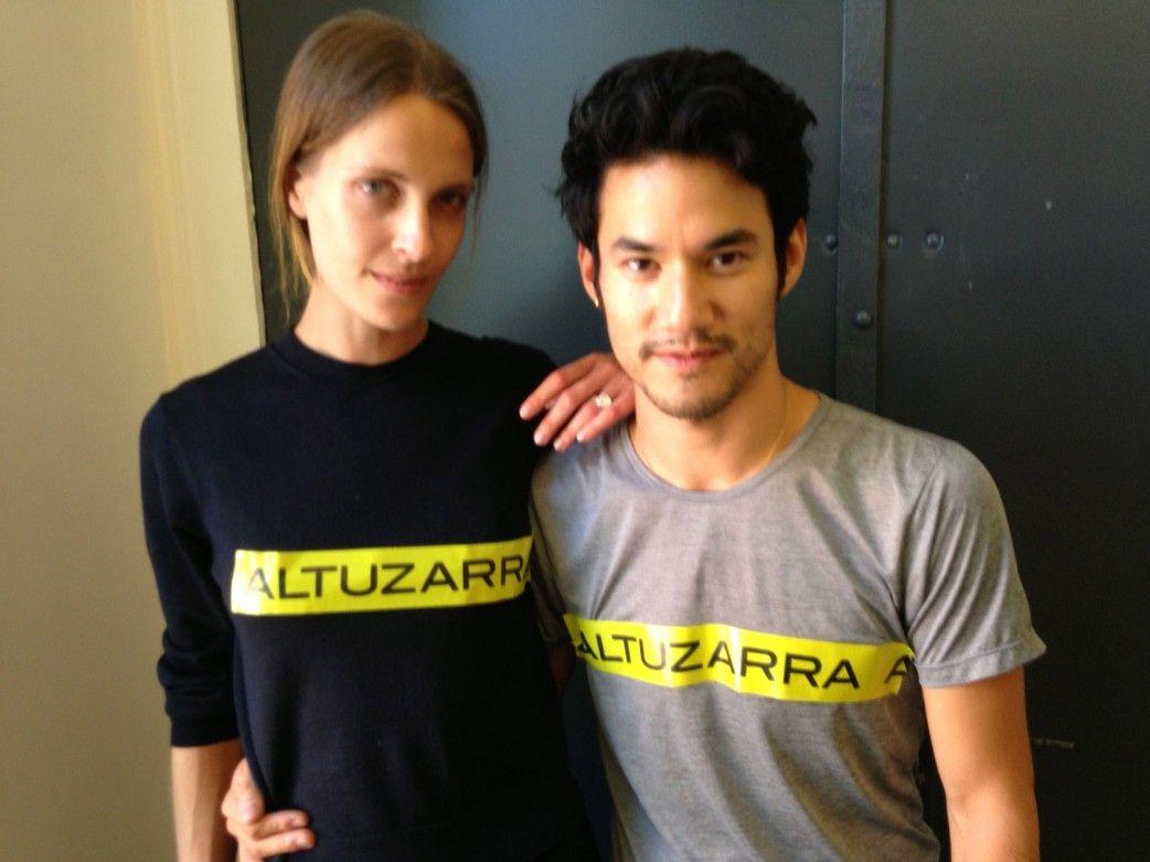Vanessa Traina: Cool and Connected - Traina Snow and Joseph Altuzarra.