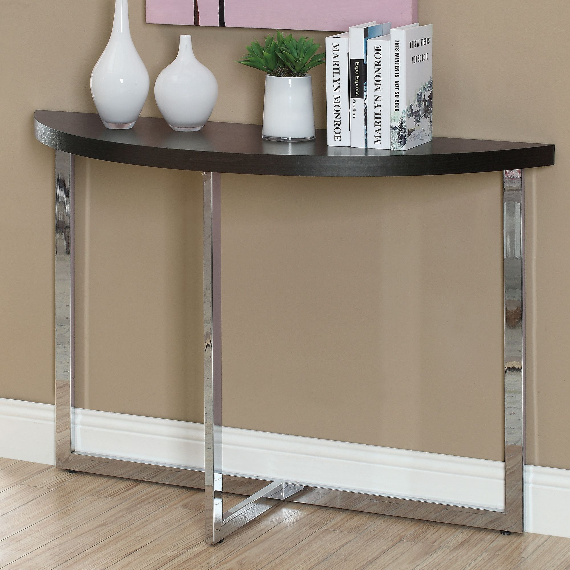 Inspirational Crescent Console Table