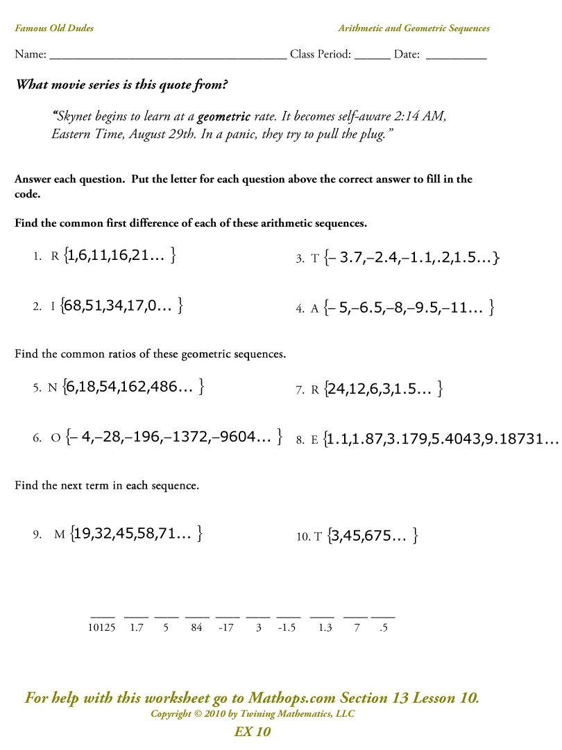 Worksheets Fun Algebra Worksheets algebra fun worksheets for review maestra i am pinterest review