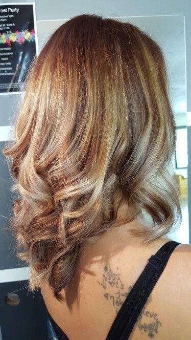 5BC bayalage by Kasey Solt  Mane Street Hair Design Bonners Ferry, ID