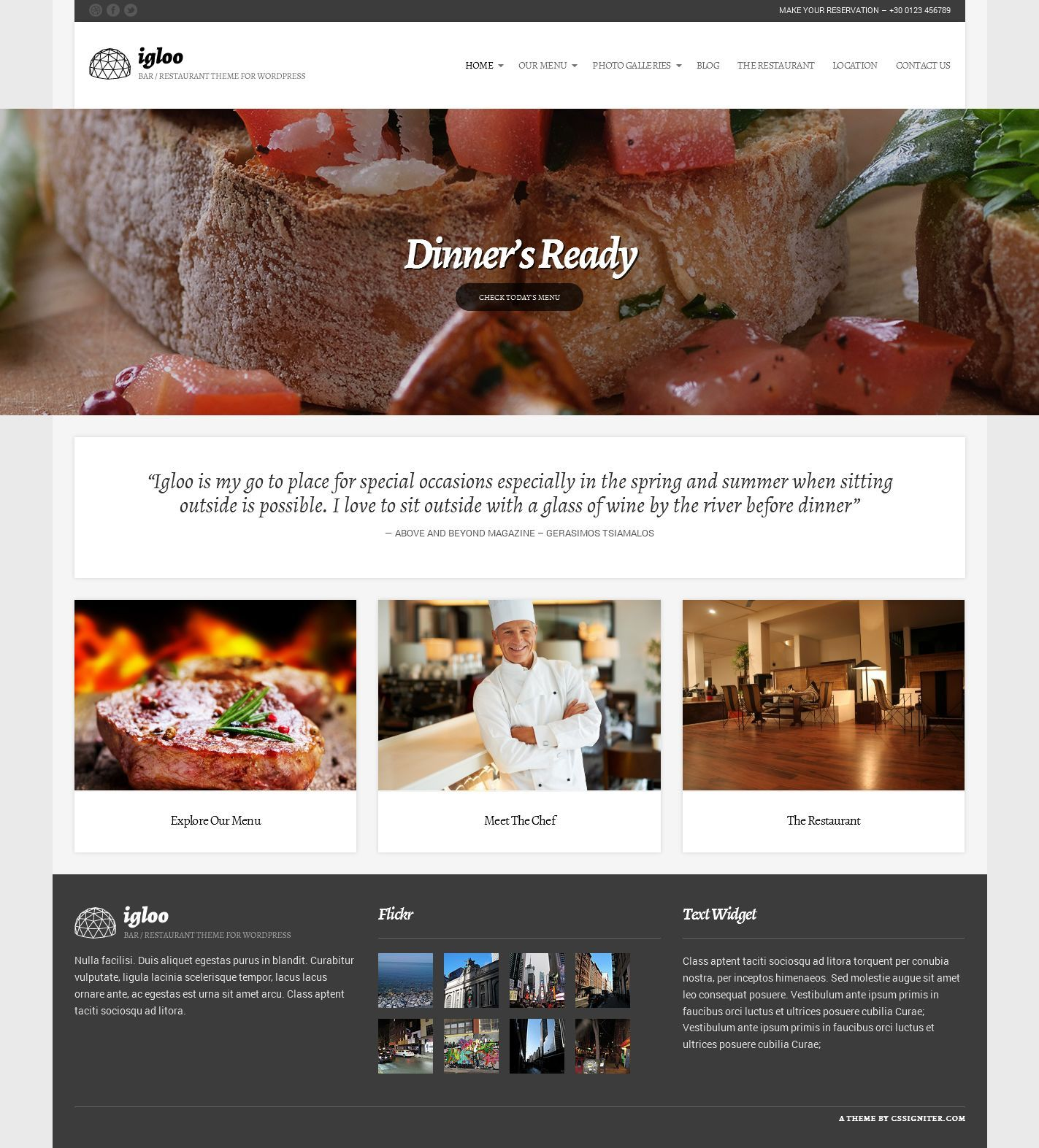 22 best Best WordPress Restaurant Theme – Cafe Bar and Food Templates You ll Want to Lick images on Pinterest