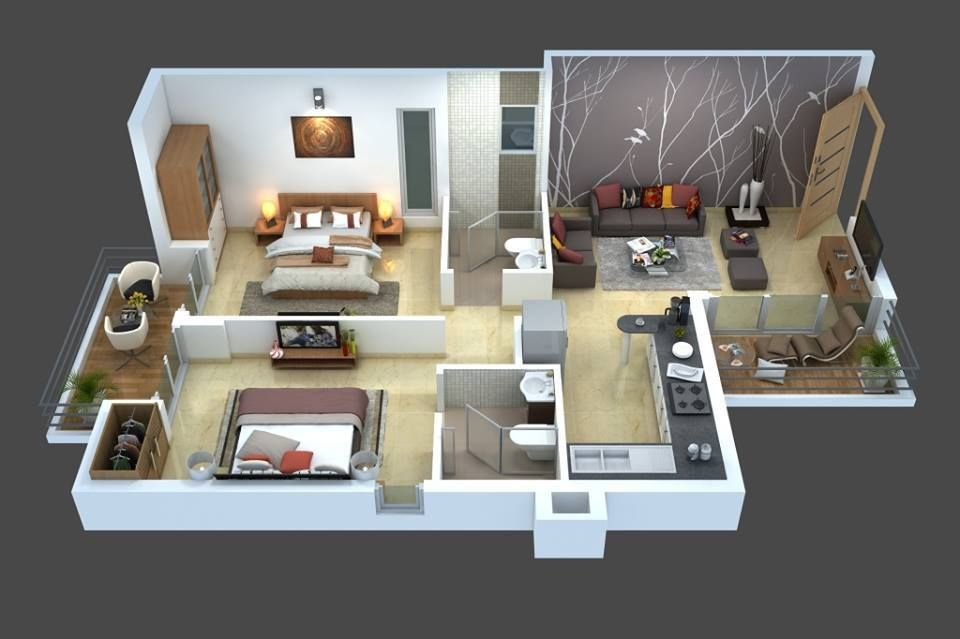 Top 8 3d Cozy Home Plans House Plans Cozy House Residential House