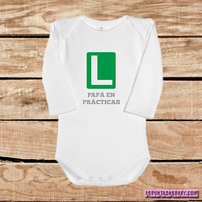 Body bebé mod. Papá en prácticas