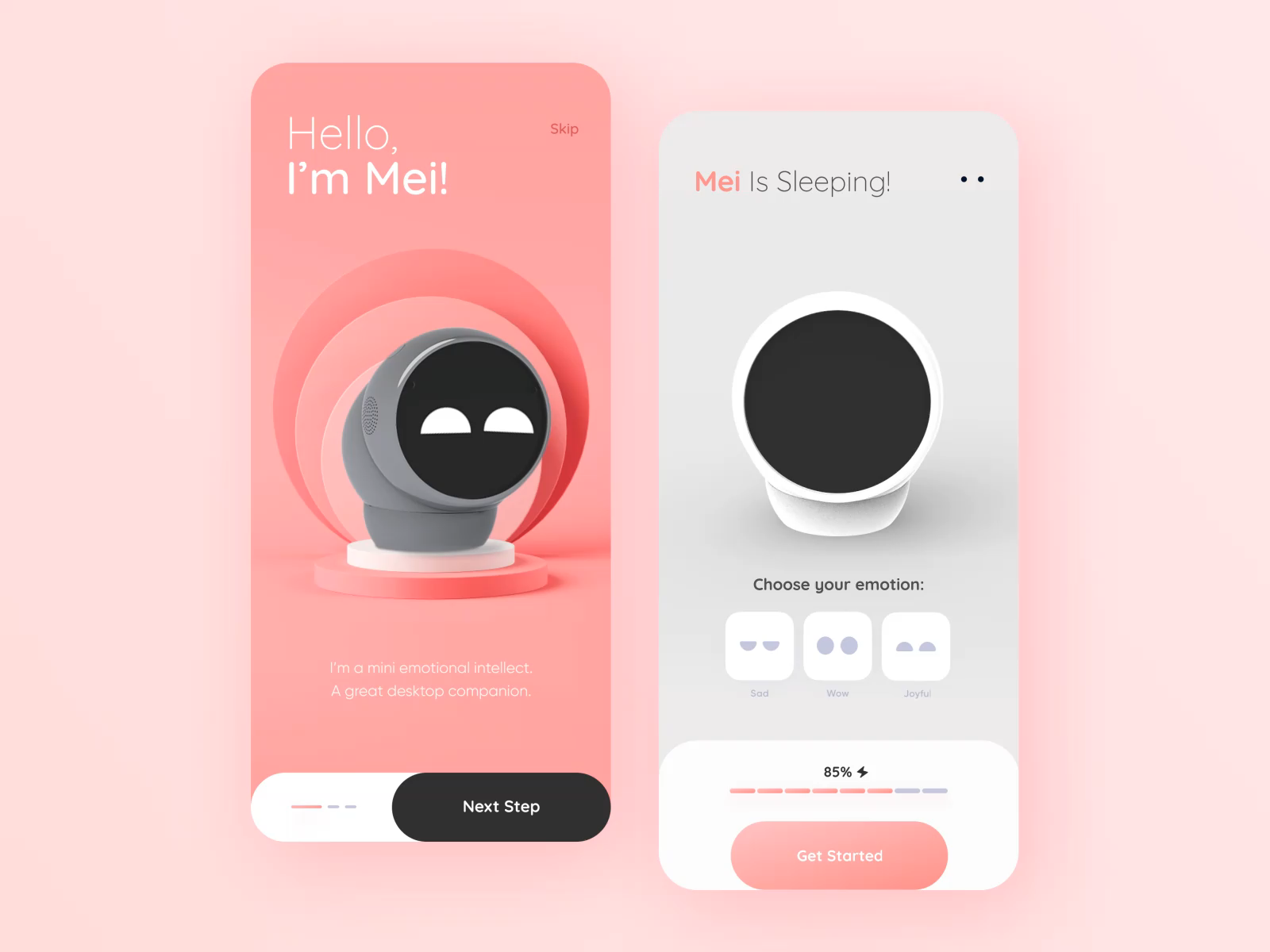 Design MEI App // Concept  #userinterface