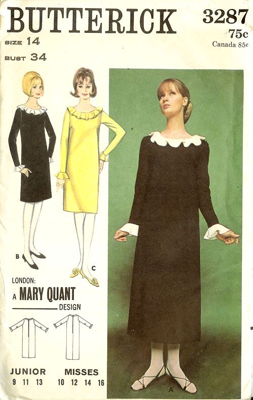 Mary Quant ruffle