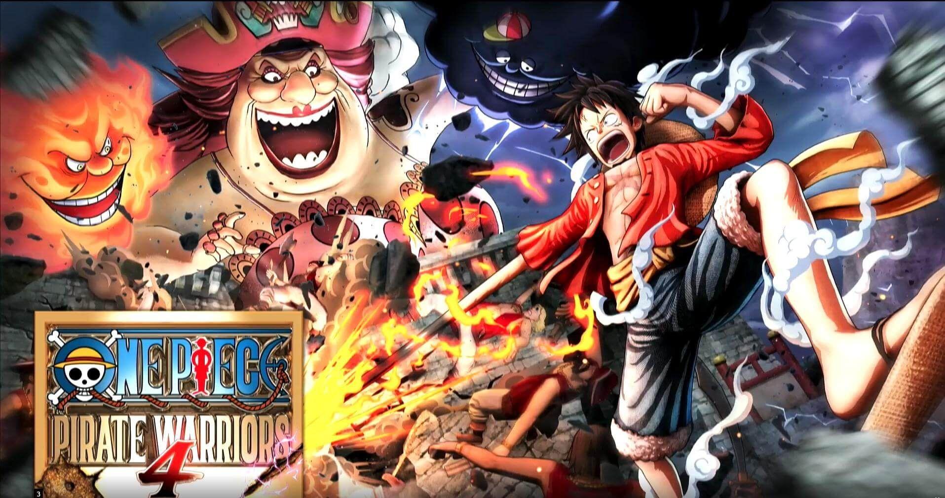 One Piece Pirate Warriors 4 é anunciado para 2020, veja o