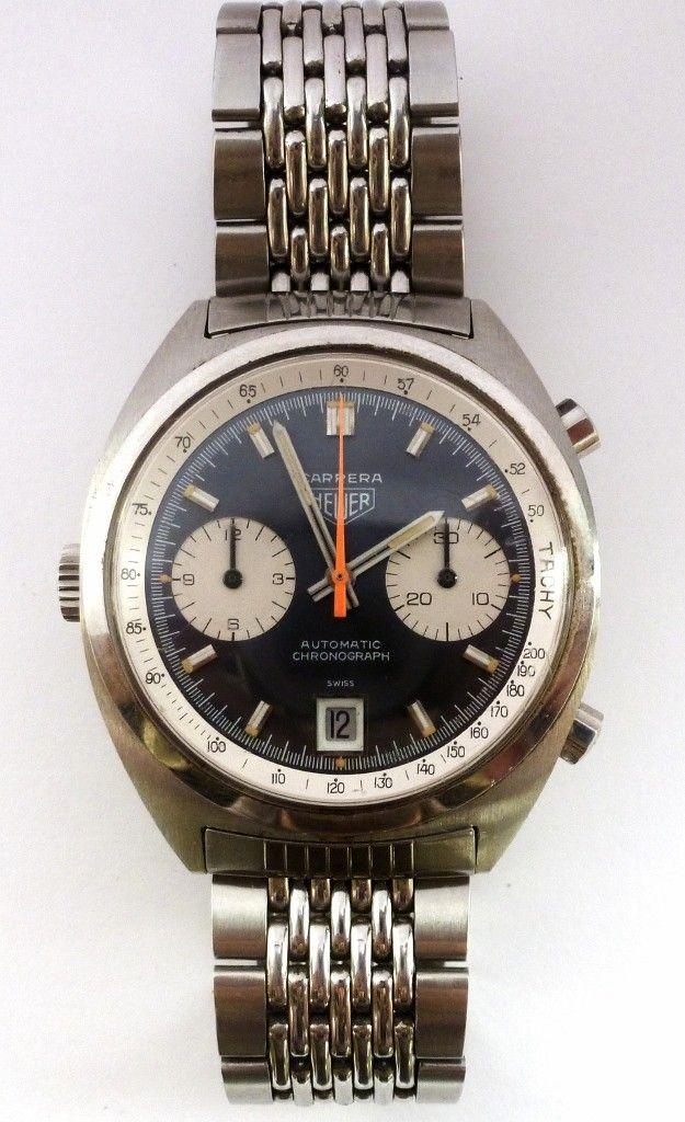 migliori scarpe da ginnastica 14c16 46a55 Vintage Heuer Carrera 1153 Chronograph | Watches | Orologio ...