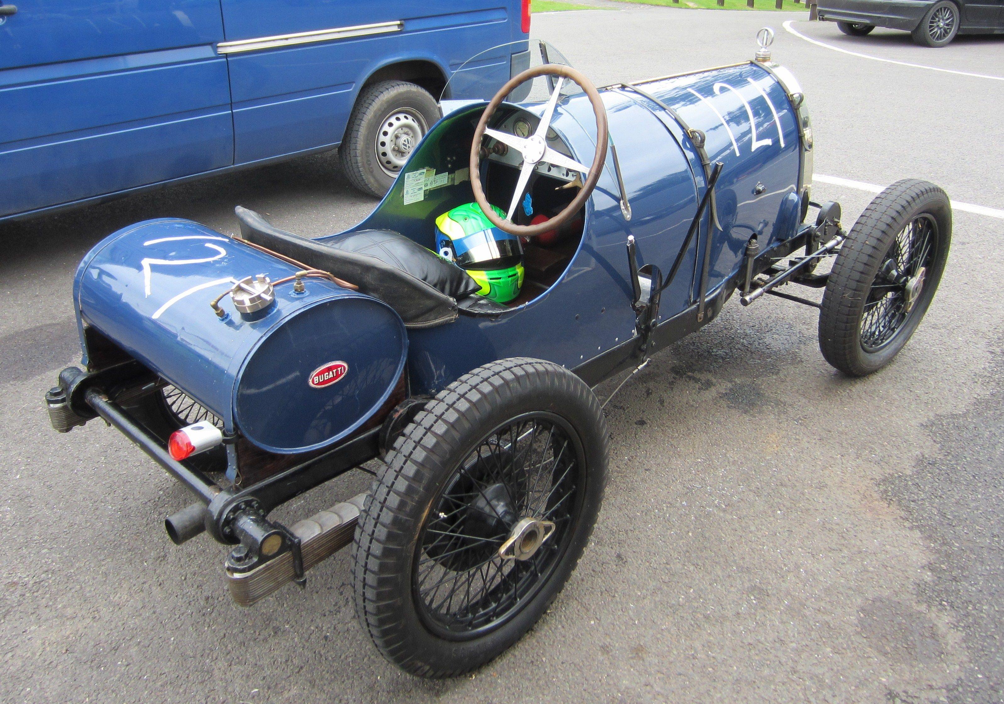 1924 Bugatti T13 Brescia Vintage race cars Pinterest