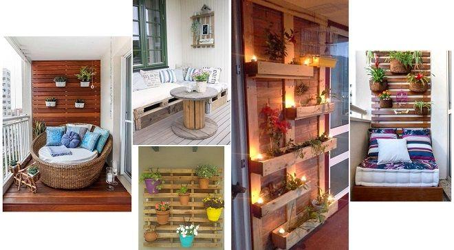 Un balcón pequeño también puede dar mucho de sí #decoración