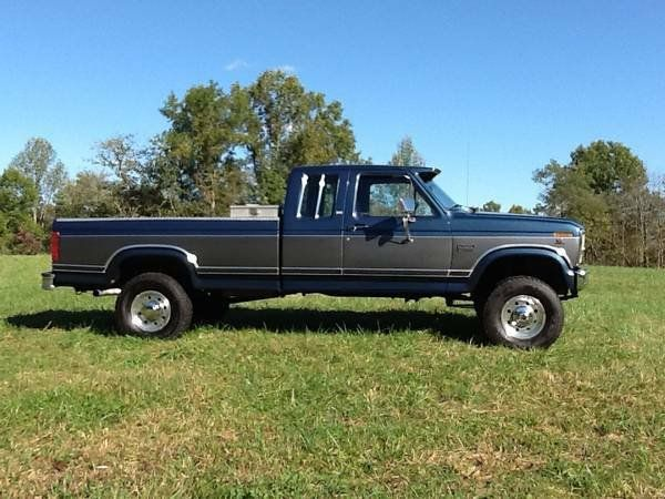 Ford f250 1986