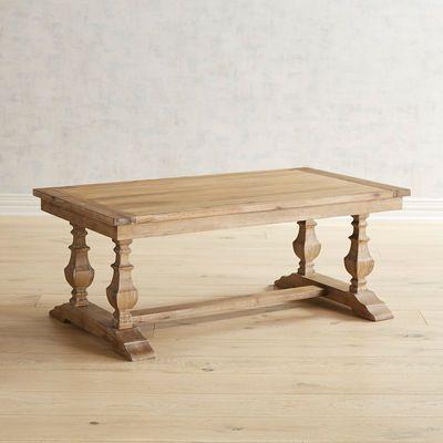 Bradding Natural Stonewash Coffee Table Pier 1 Imports
