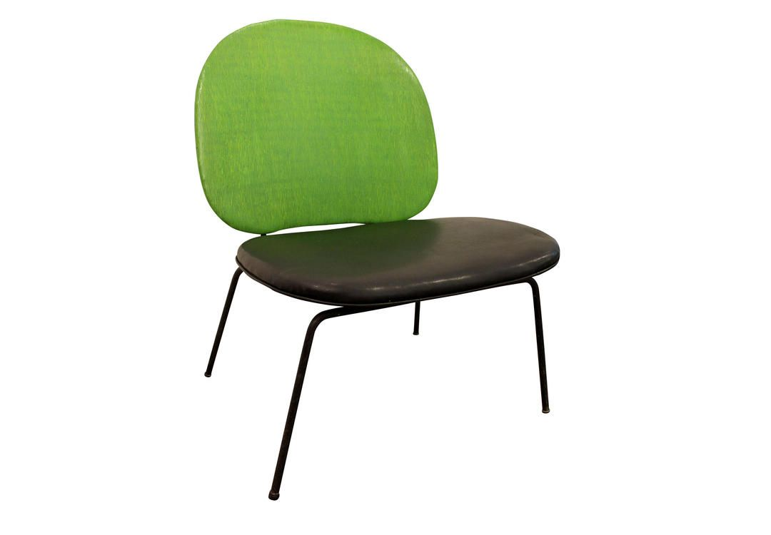 MidCentury Danish Modern Paul McCobbStyle Lime Green