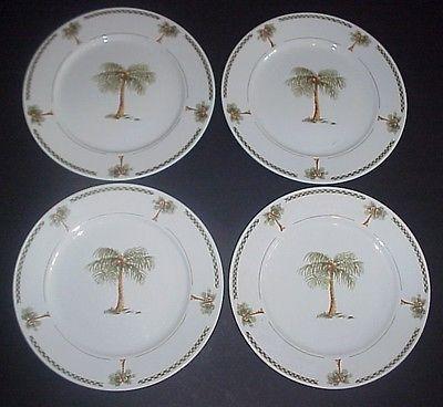 Palm Tree Dinner Plates   Home design ideas