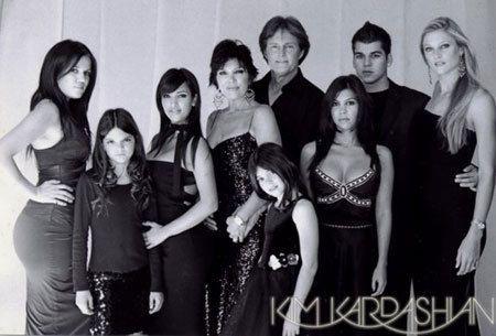 Us Weekly Latest Celebrity News Pictures Entertainment Kardashian Family Photo Kardashian Christmas Card Kardashian Family