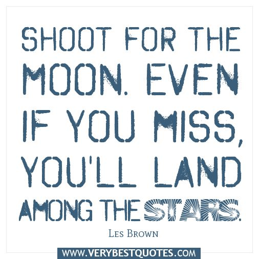 Inspirational Quotes On Pinterest: Even If The Moon Is Technically Closer Than The Stars