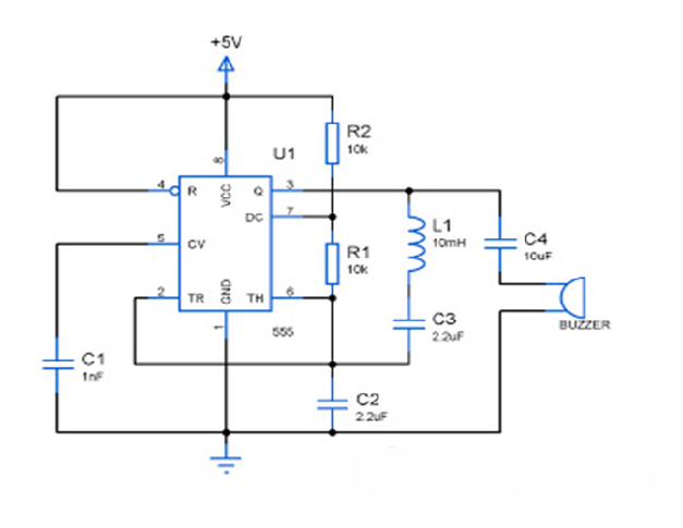metaldetectorcircuit using 555ic are useful for finding rh pinterest com au