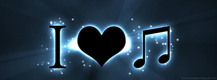 Love Music LOVE Facebook Timeline Covers Valentine