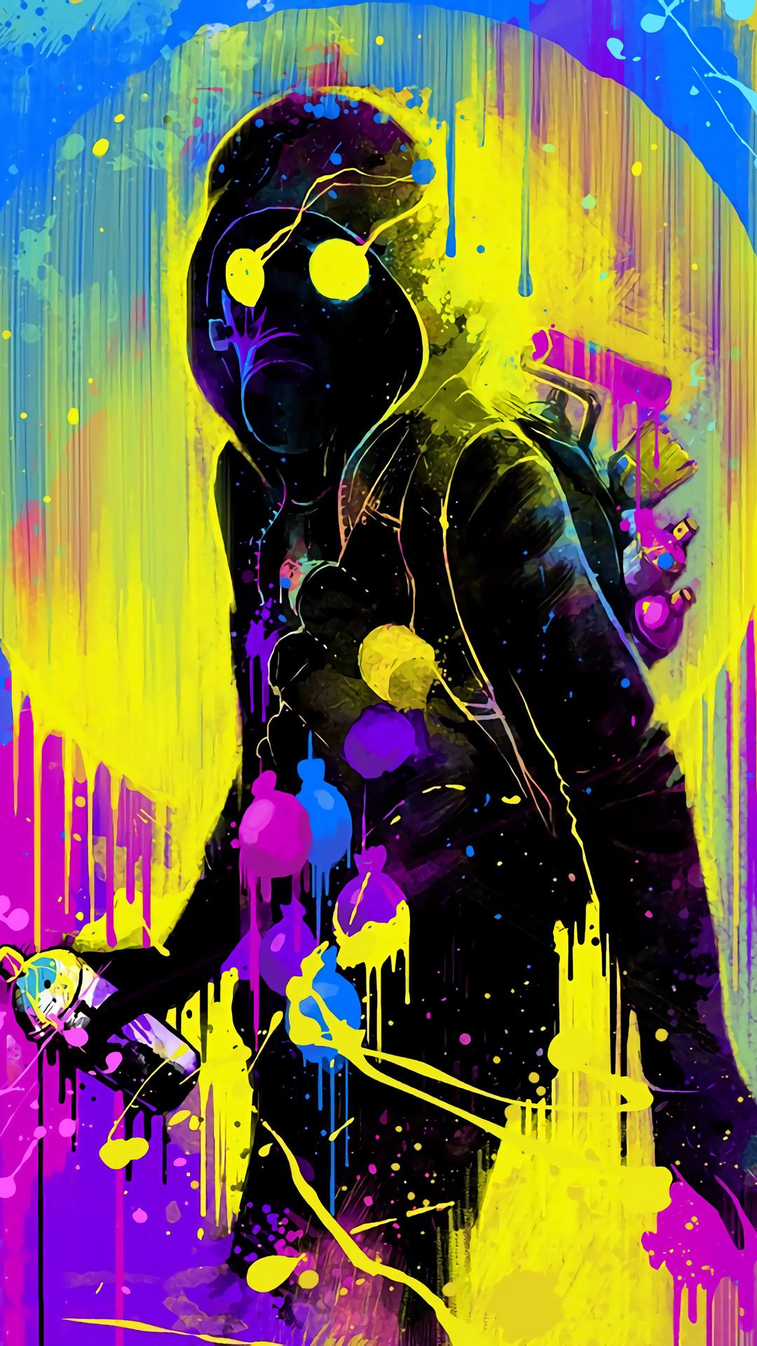 Fashion style Graffiti Cool art wallpaper for lady