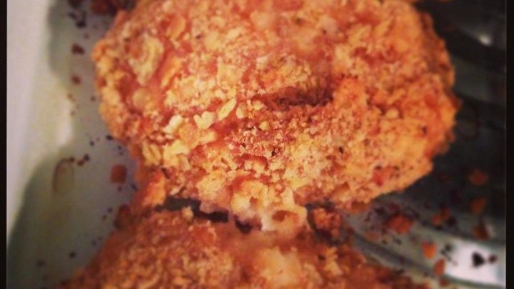 Easy Crispy Baked Chicken | Recipe | Baked chicken recipes ...