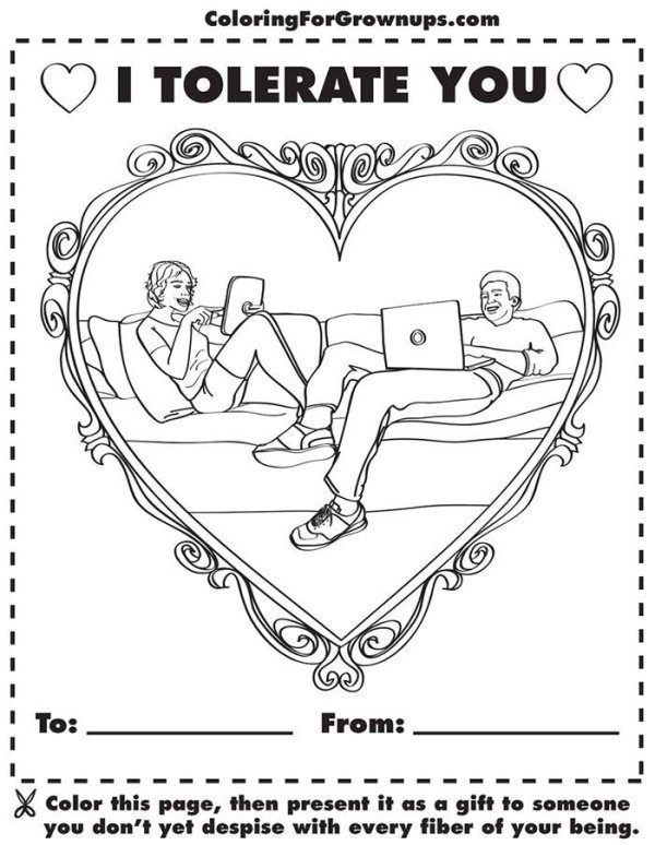 hilarious coloring books for adults by ryan hunter and taige jensen - The Adult Coloring Book