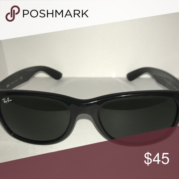 ea91ecd33f Black polarized ray ban Wayfarer sunglasses Men kids sunglasses