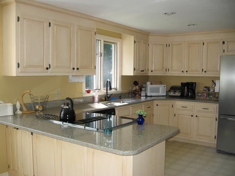 Best Kitchen Cabinet Color Schemes Ideas Simple Kitchen Cabinets
