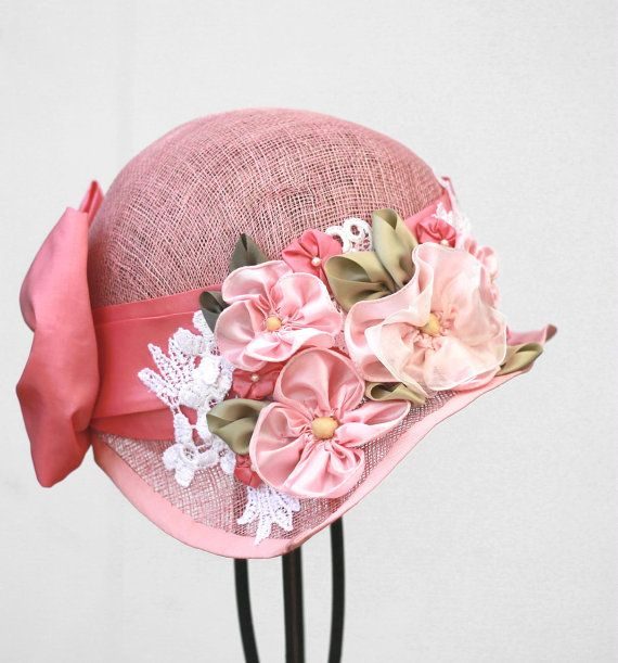 Womens Cute Cloche Hat Summer Hats In 1920 S Vintage By Gail