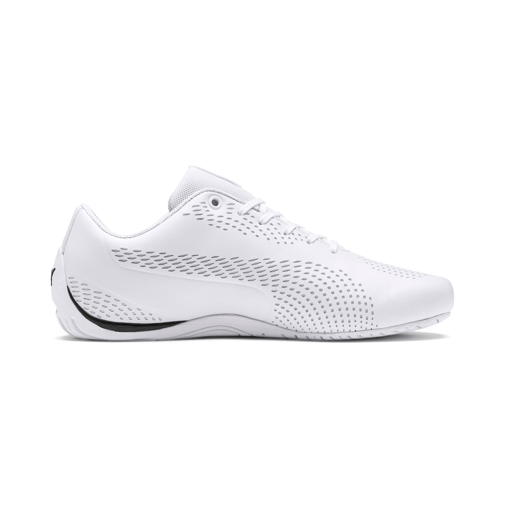 PUMA Ferrari Drift Cat 5 Ultra II Trainers, White/Black, size 6, Clothing