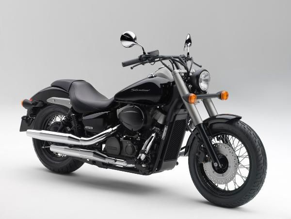Updated 2018 2019 Honda Shadow 750 Black Spirit Motorcycle