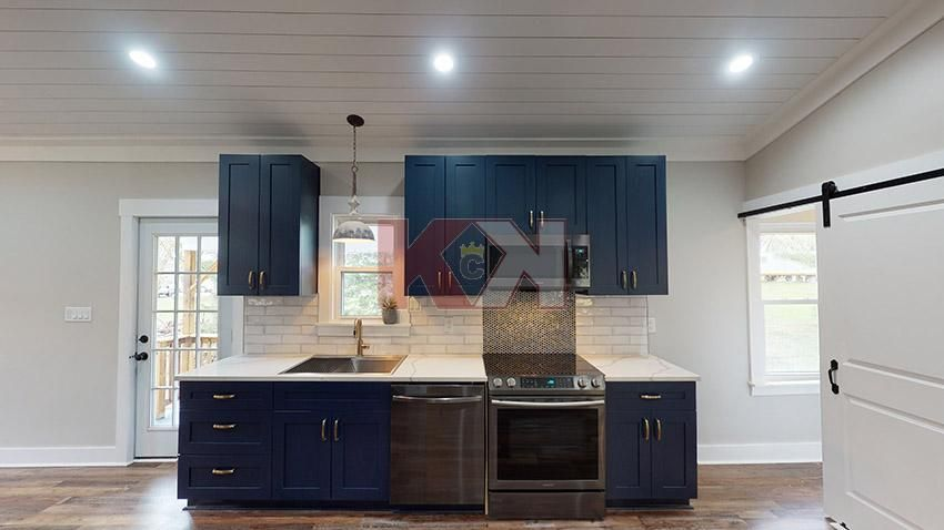 Imperial Blue Kitchen Cabinets In 2020 Online Kitchen Cabinets Frameless Kitchen Cabinets Kitchen Cabinet Kings