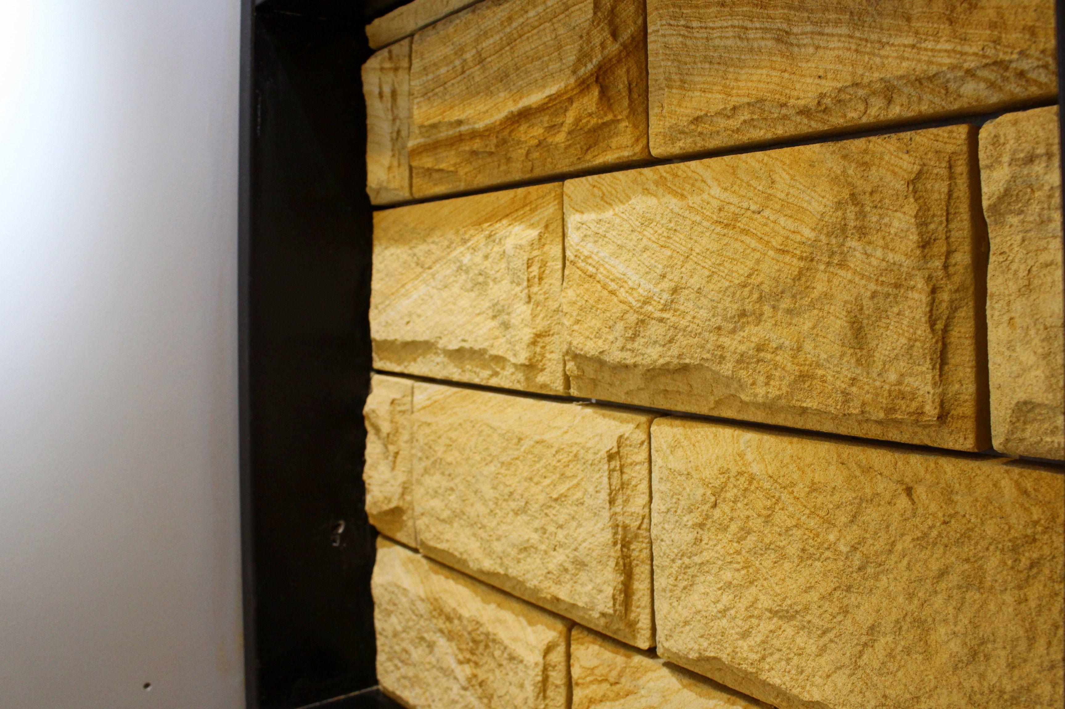 Australian sandstone rockface. -Natural stone -Sandstone rockface ...